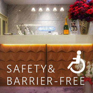 SAFETY & BARRIER-FREE BEAUTY SALON