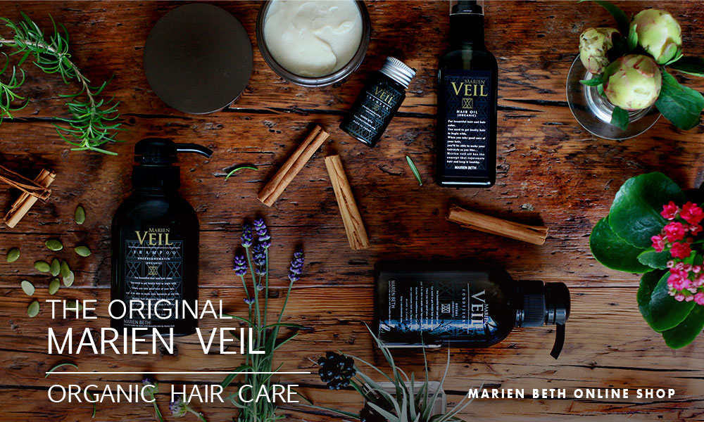 THE ORIGINAL MARIEN VEIL|ORGANIC HAIR CARE
